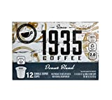 1935 Single Serve Coffees in Recyclable Plastic Cups (DONUT BLEND, 12 Count)
