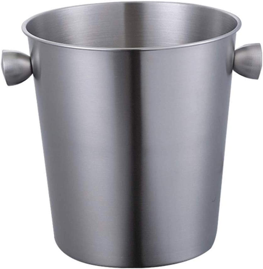 WJCCY Silver Stainless Steel Ice Punch price C Wine Bucket Cooler Beer Free shipping anywhere in the nation