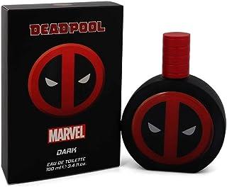 Marvel Eau De Toilette Spray, Deadpool Dark, 3.4 Ounce