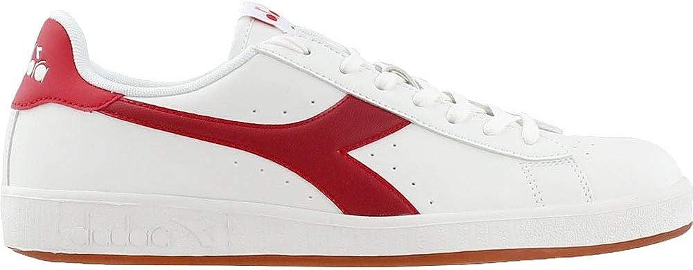 Diadora Mens Game P Casual Sneakers, White