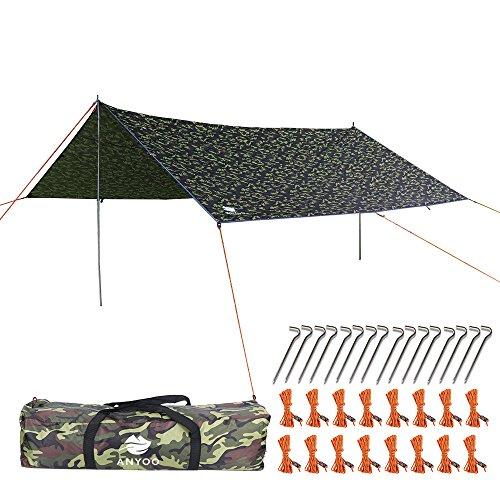 Anyoo Ripstop Rain Tarp Beach Tent...