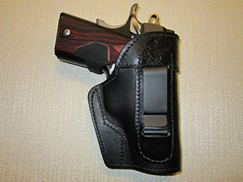 Kimber Ultra Carry II & COLT Defender IWB Leather Holster, Right or Left Hand