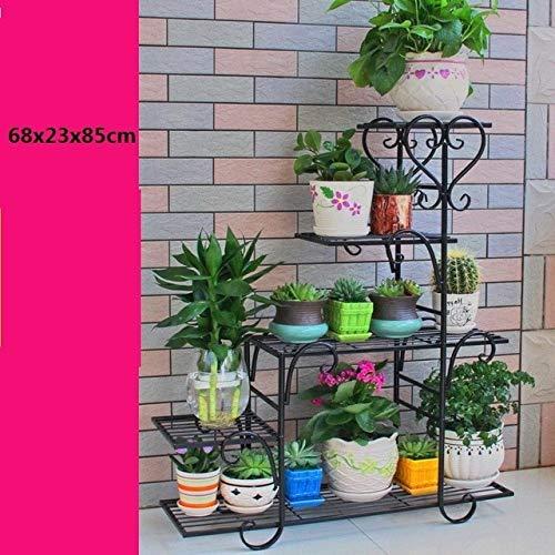 GBX Support d'étagère en métal étagère décorative Plante étagère Fleur Fer étagèrenuméro 4