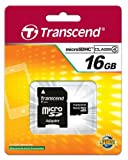 Polaroid IF045 Digital Camera Memory Card 16GB microSDHC Memory Card with SD Adapter