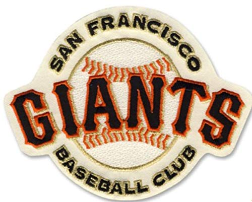 Emblem Source SF Giants Home Cream Jersey Sleeve Patch