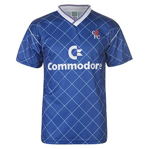 Score Draw Herren CFC 88 Heim Trikot Kurzarm Sport Blau 2XL