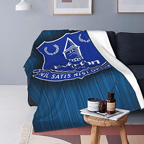 Manchester United - Manta de forro polar súper suave, ligera, hipoalergénica, de felpa, para sala de estar