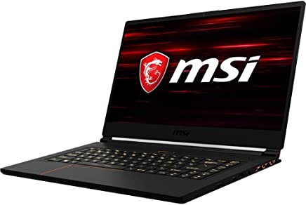 "MSI GS65 Stealth THIN-050 15.6"" Gaming Laptop - 144Hz 7ms, Ultra Thin, i7-8750H (6 cores), GTX 1060 6G, 16GB RAM, 512G NVMe SSD, Win 10 Pro, RGB Keys, Black w/ Gold Diamond Cut"