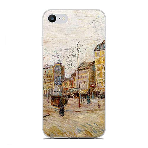 GJGSWY Case for Apple iPhone 6 Plus/6s Plus, Gogh-Van Oil Painting 7 Soft TPU Clear Silikon Coque Slim Liquid Anti-Slip