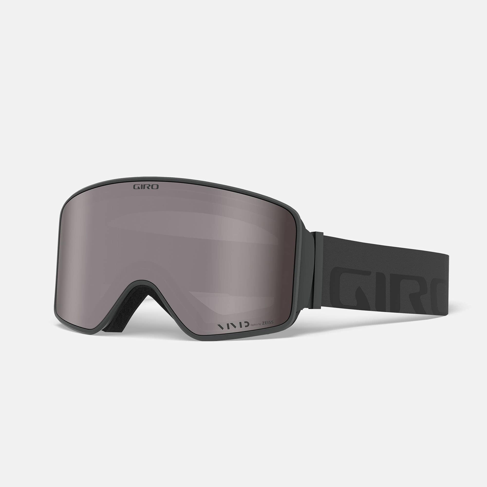 Giro Snow Unisex– Erwachsene Method Skibrille, Grey Wordmark Vivid Onyx/Vivi