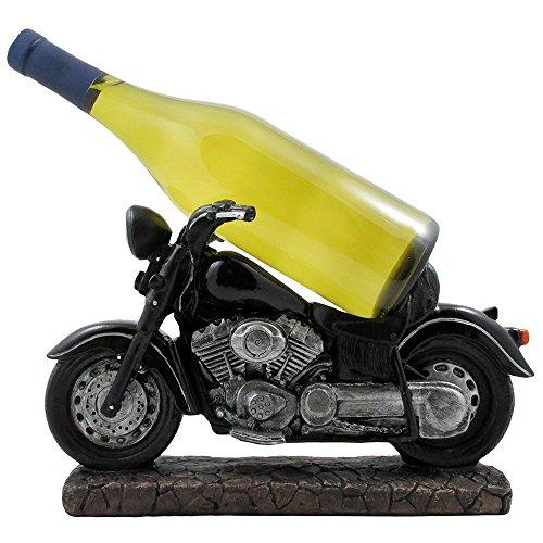 Klassische Motorrad-Weinflaschenhalter-Statue für Vintage Fahrrad & Chopper Modell-Skulpturen als Bar oder Küche Dekoration Tisch-Weinständer & Regale und dekorative Geschenke für Biker