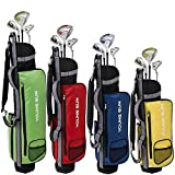 Young Gun ZAAP EAGLE Junior golf club Youth Set & bag for kids BLUE Ages 6-8