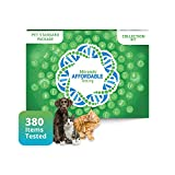 5Strands Pet Test, Standard Package 380 Items – Includes Food Intolerance & Environment Sensitivity Testing – at Home Health - Dog or CAT Hair Sample Collection, Results in 10 Days