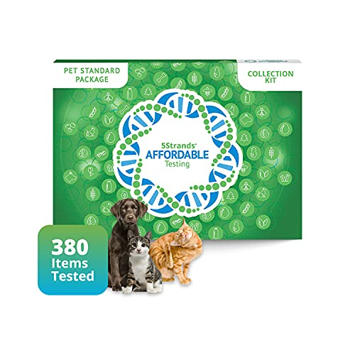 5Strands Pet Test, Standard Package 380 Items – Includes...