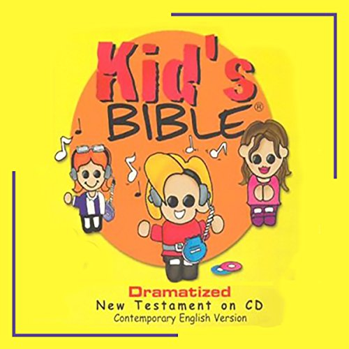 New Testament Bible Stories for Children with 100 Children's Bible Songs audiobook cover art