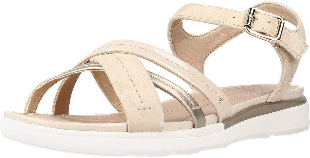 Geox Women's Wedge Heels List price Toe Open Sandals Los Angeles Mall