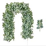 ZYYYYY Garland Rattan Home Jardín Vertical Decoración, Vides Artificiales Falsas Plantas Ivy para Boda