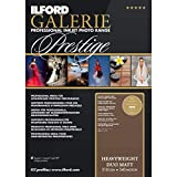 ILFORD Galerie Prestige Heavyweight Duo May - Papel fotográfico doble cara, 310 g,...