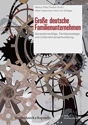 Große Deutsche Familienunternehmen: Generationenfolge, Familienstrategie und Unternehmensentwicklung
