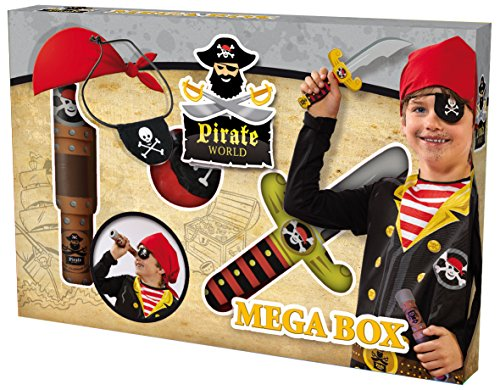 Ses France - 09862 - Déguisement pour Enfant - Set Pirate