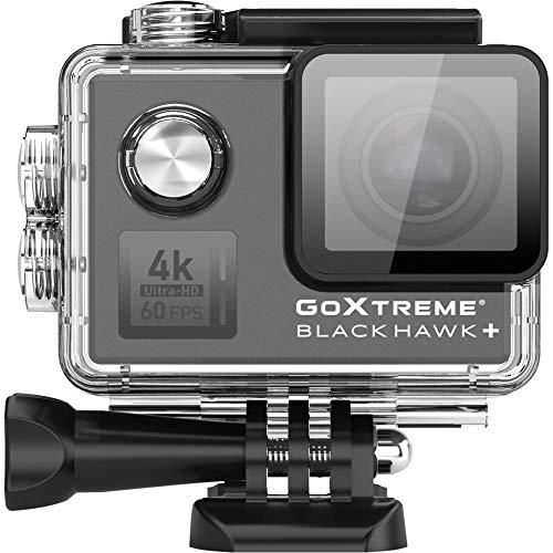 Goxtreme 3R30040 Blackhawk 4K+ Actioncam 4K-60Fps, Nero