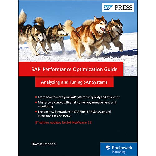 SAP Performance Optimization Guide: Analyzing and Tuning SAP Systems (SAP PRESS: englisch)