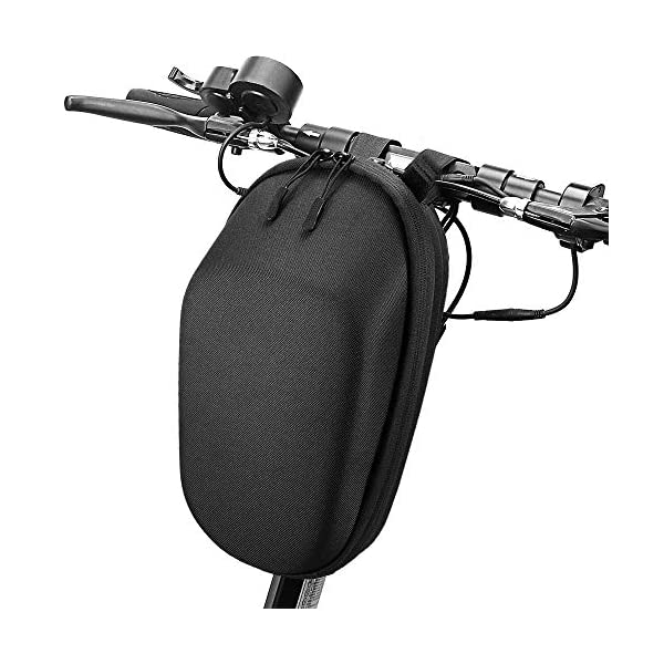 Electric Scooters Blusea Scooter Front Tube Bag, Electric Scooter bag Large Capacity Front Pouch Tools Cellphone Storage Bag for Xiaomi Mi…