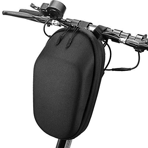 Blusea Moto Borsa Scooter Bag, Scooter Tunnel Bag, Skateboard Borsa per Monopattini Xiaomi Mijia M365, Scooter Elettrico Frontale Borsa e Strumenti Borsa per Cellulare (3L Classico)