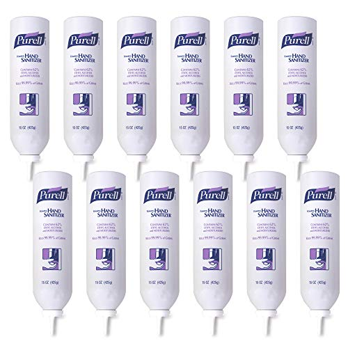 PURELL Foaming Hand Sanitizer, 15 fl oz Foam Hand Sanitizer Refill for PURELL APX Push-Style Dispenser (Pack of 12) - 9698-12