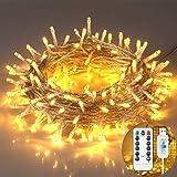 Indoor String Lights, Christmas Decorations Lights, 200 LEDs, 65.6ft, USB...