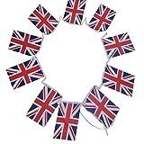 G2PLUS Bandierine dell'Inghilterra, Vessilli Della Nazione Inglese, lunghezza di 11 Metri ...