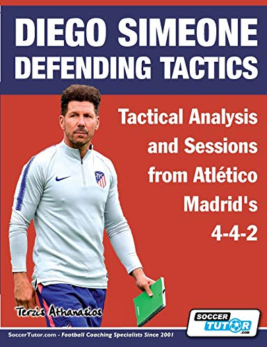 Diego Simeone Defending Tactics - Tactical Analysis and Sessions from Atlético Madrid's 4-4-2 (1) (Diego Simeone Tactics)