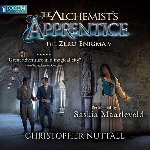 The Alchemist's Apprentice audiobook cover art