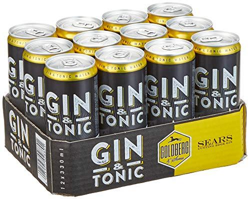 Goldberg Gin Tonic, EINWEG (12 x 0.33 l)