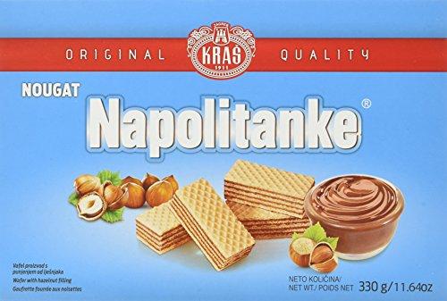 Kras Napolitanke Nougat Neapolitanerwaffeln (1 x 330 g)