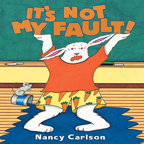 Diseño de la portada del título It's Not My Fault!