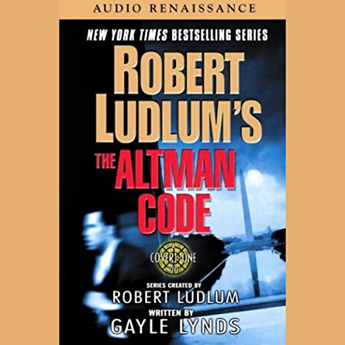 Robert Ludlum's The Altman Code audiobook cover art