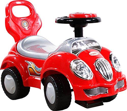 BSD Coche Correpasillos Infantil Auto de Juguete para Niños - Arti 557W Oldmobile - Rojo