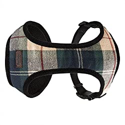 Colour: Tartan Features Barbour for Land Rover tag Made from a soft material Genuine Land Rover GEAR Large (chest 53 to 74cm)