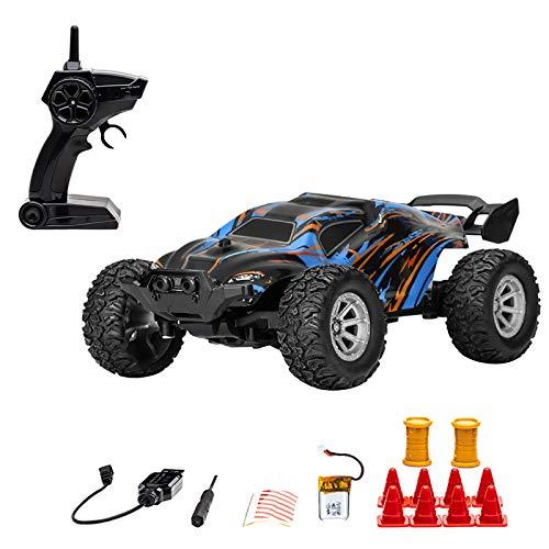 Coche de control remoto, 2,4 GHz, coche de carreras de alta velocidad, coche de carreras de alta velocidad con betterise recargable, el mejor regalo para niños y niñas