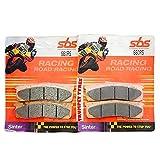 A.P. Racing Calipers 6 Piston 3366/3367 Series SBS Performance Front Road Race Racing Sinter Sintered Pastillas de Freno Set Original OE Calidad 660RS
