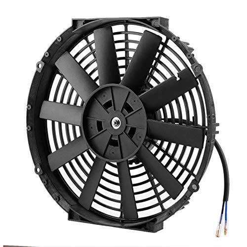 Bediffer Ventilador de radiador confiable ABS avanzado para Piezas Auto modificadas para automóviles