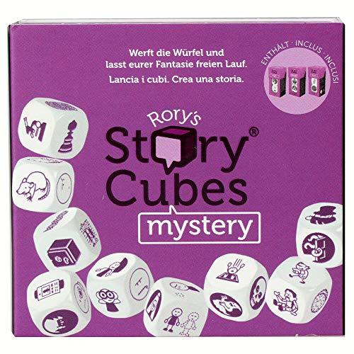 Asmodee Italia Rory's Story Cubes Mistery - Juego de Dados para Crear Historias, edición en Italiano, 8079