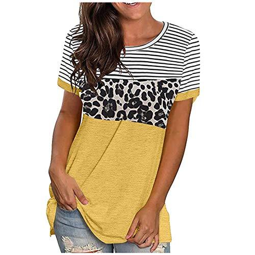 Damen Basic T-Shirt mit Print, Frauen Tank Tops, Sonnenblume Printed Weste T-Shirt Sport BH Kabellos Basic Tee Crop Top