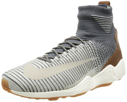 NIKE Zoom Mercurial XI FK Uomos Hi Top 844626 Sneakers Turnschuhe (UK 11 US 12 EU 46, Dark Grey Pale Grey 003)