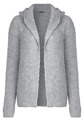 Street One Damen Jacke in Bouclé Optik Club Grey Melange 42