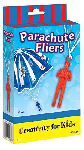 Creativity for Kids - Cfk1986 - Kit De Loisirs Créatifs - Mini-kit De Soldats Parachutistes