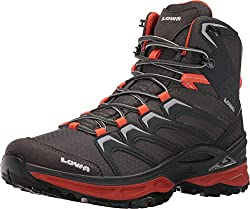 Lowa Men's Innox Mid Graphite/Orange Shoe