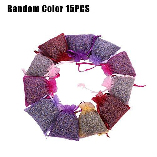 Basisago Lavendelsäckchen, Natürliche Lavendel-getrocknete Blumen Lavendel Duftbeutel, Für Duftende Schubladen, Schränke Und Natürliche Mottenbekämpfung