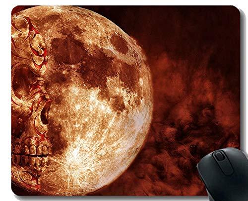Yanteng El cojín de ratón CREA para requisitos particulares, Miedo Oscuro Oscuro asustadizo del Miedo de la Muerte Alfombrilla de ratón